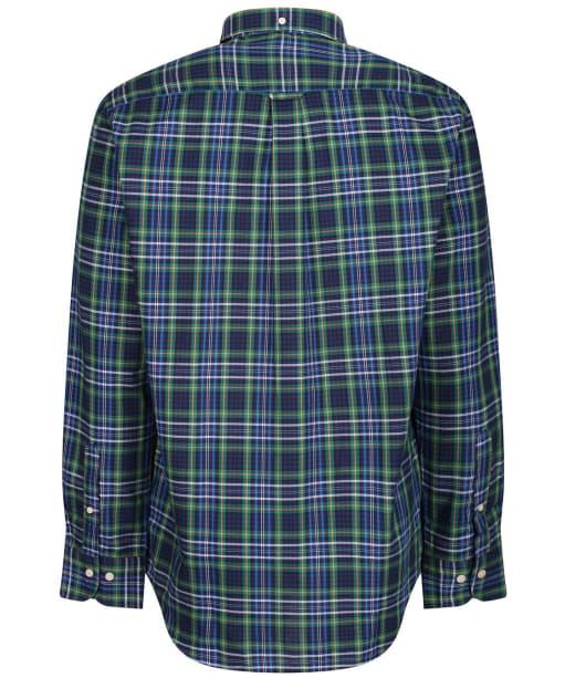 Men's GANT Micro Tartan Oxford Shirt - Ivy Green