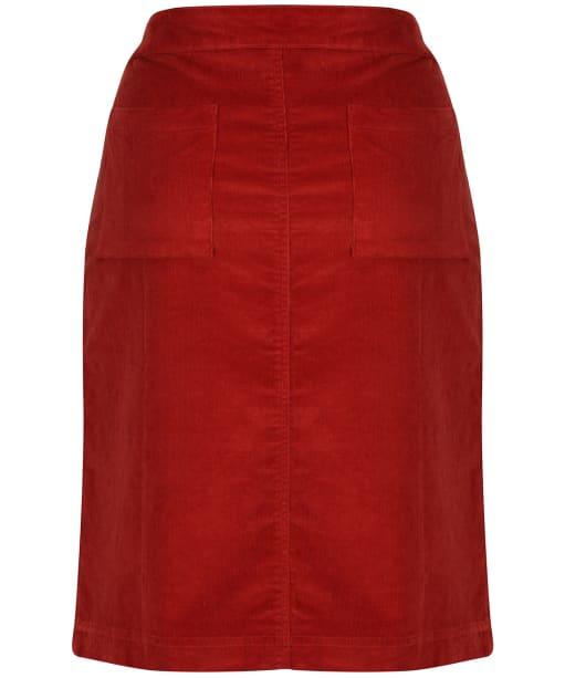 Women's Lily & Me Annabelle Cord Skirt - Brick