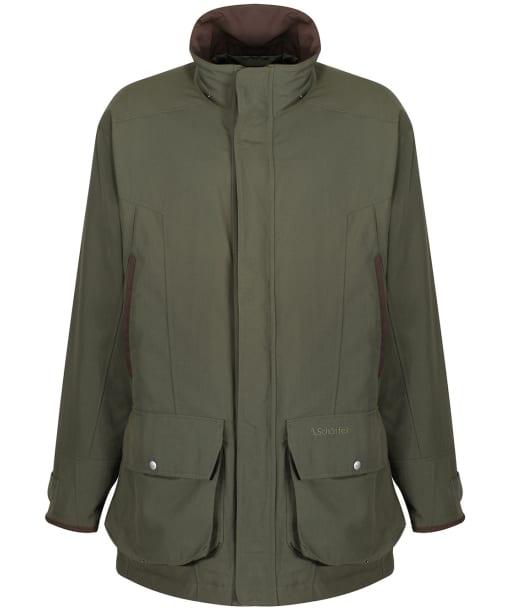 Men's Schoffel Classic Ptarmigan Coat - Hunter Green