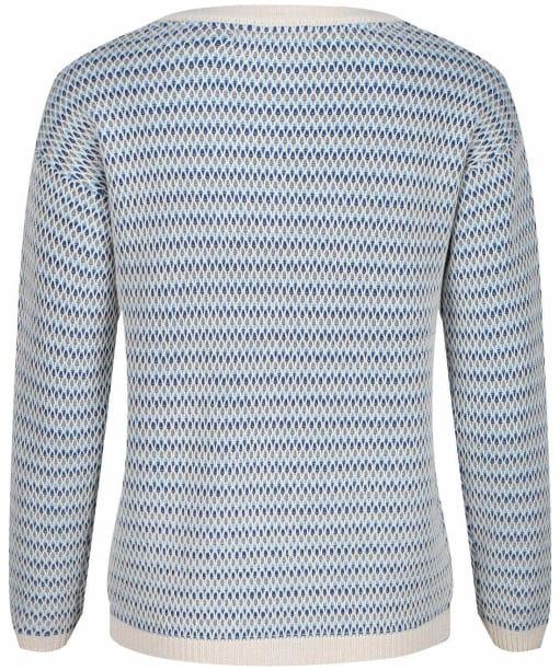Women's Crew Clothing Hayle Jumper - Grey / Blue