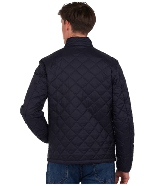 Men's Barbour x National Trust Bitturn Quilted Jacket - Navy