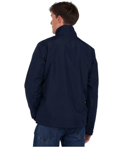 Men's Barbour x National Trust Greglag Waterproof Jacket - Navy