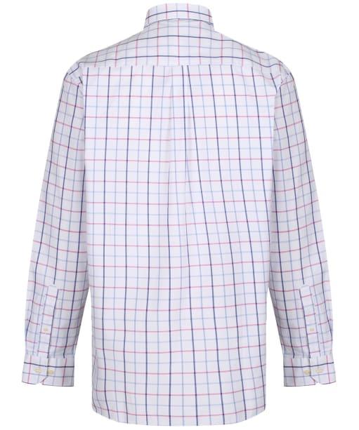 Men's Schoffel Brancaster Shirt - Blue / Pink Check