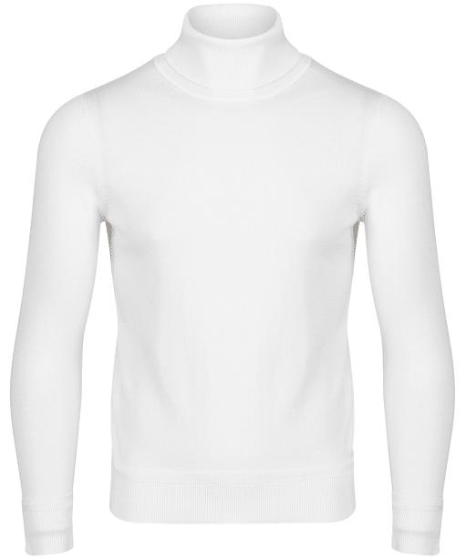 Men's GANT Cotton Turtleneck - Eggshell