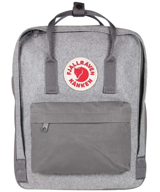 Fjallraven Kanken Re-Wool Backpack - Granite Grey