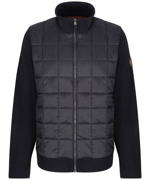Men's Timberland Tripyramid Hybrid Full Zip Jacket - Black