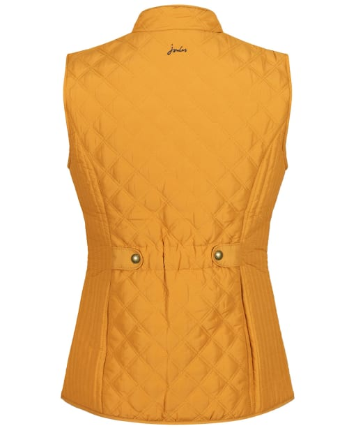 Women's Joules Minx Quilted Gilet - Golden