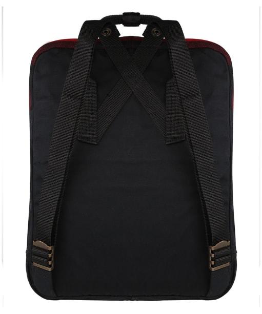 Fjallraven Kanken Re-Wool Backpack - Red / Black