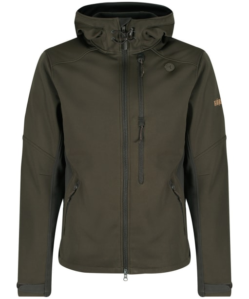 Men's Harkila Lagan Jacket - Willow Green / Deep Brown