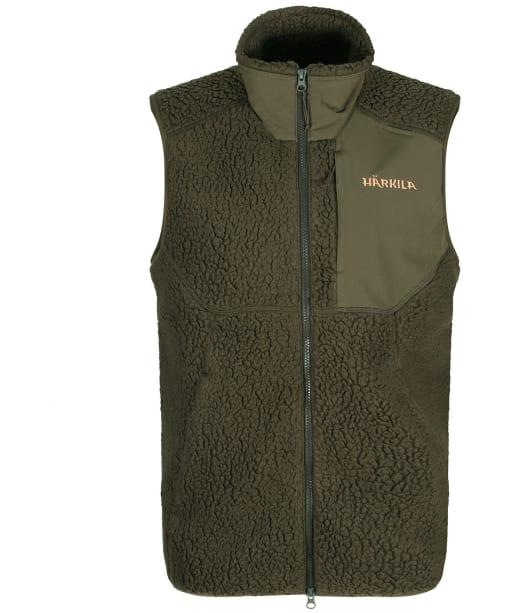 Men's Harkila Polar Fleece Waistcoat - Willow Green