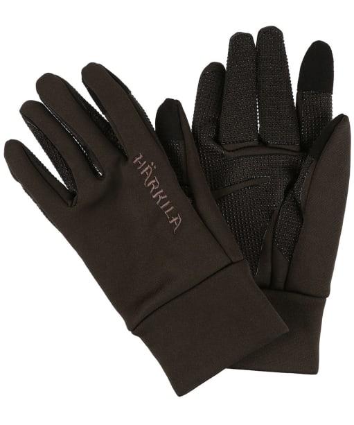Men's Harkila Power Liner Gloves - Soil Brown