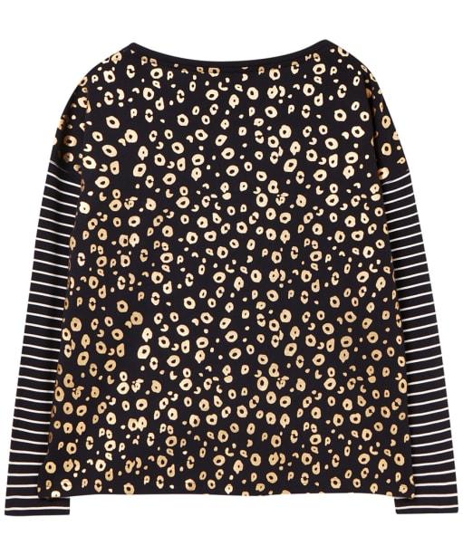 Women's Joules Marina Print Top - Navy / Cream Stripe