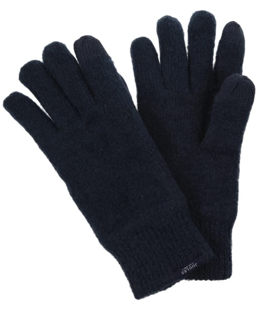 Men's Joules Bamburgh Knitted Gloves - French Navy