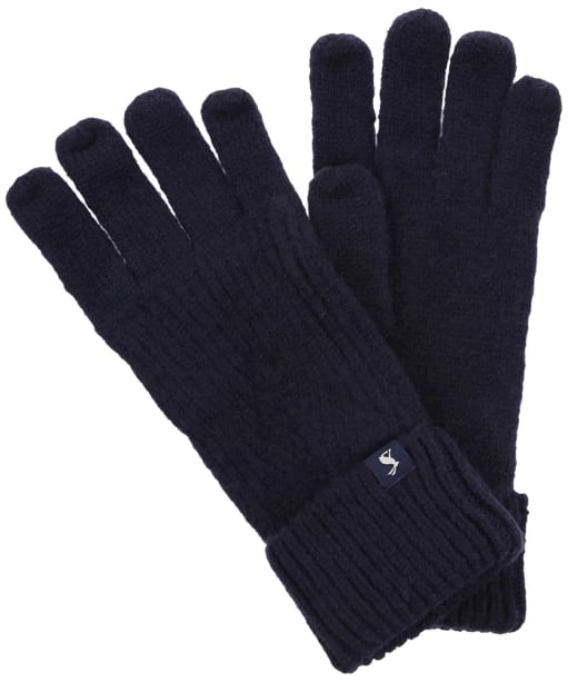 Women's Joules Thurley Gloves - French Navy