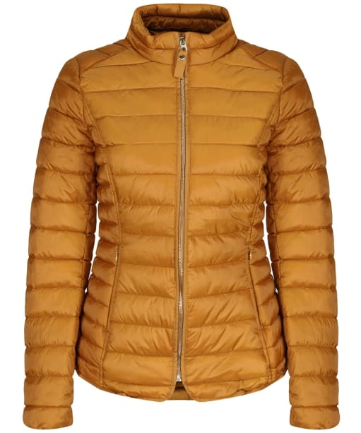 Women's Joules Canterbury Short Quilted Jacket - Golden