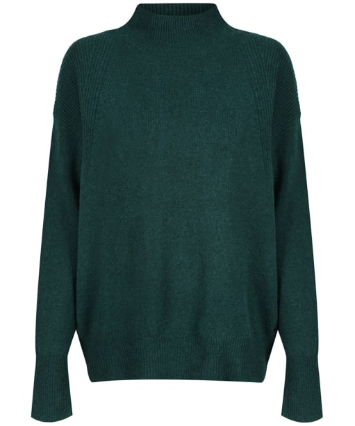 Women's Joules Halton Turtle-Neck Jumper - Dark Green