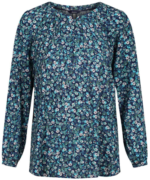 Women's Joules Odette Shirt - Navy Ditsy
