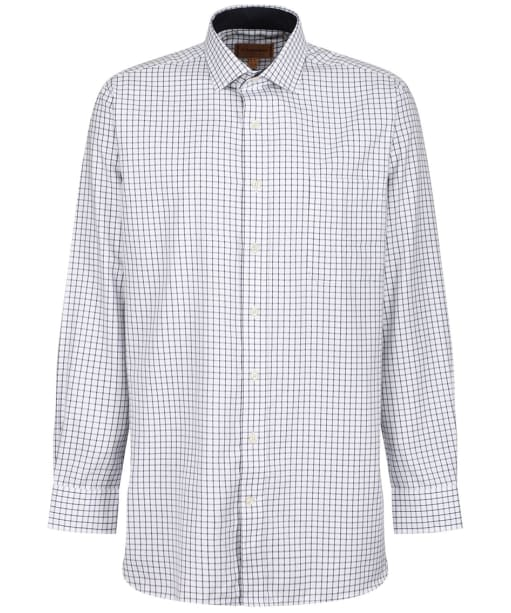 Men's Schoffel Cambridge Tailored Shirt - Navy