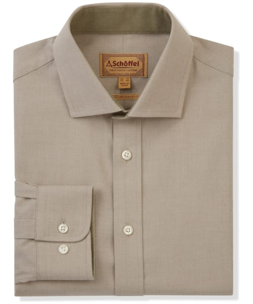Men's Schoffel Newton Tailored Sporting Shirt - Lovat Check
