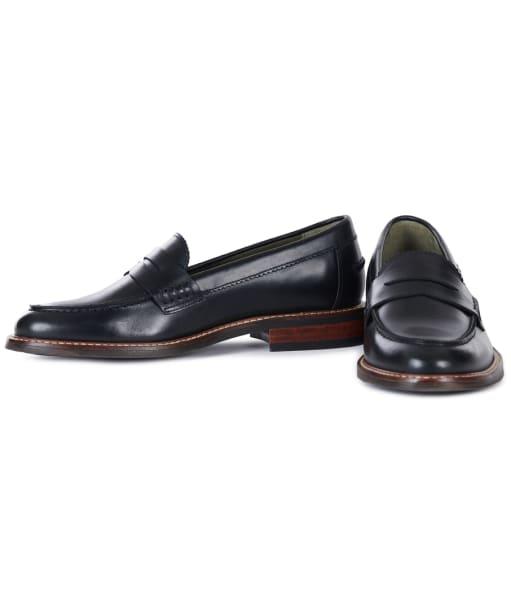 Women's Barbour Blenheim Loafers - Black