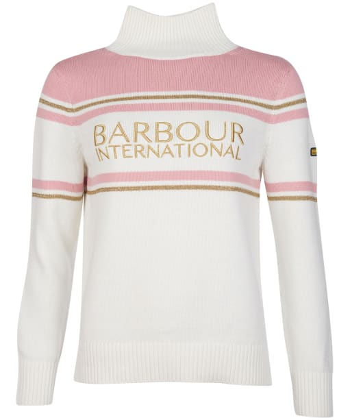 Women's Barbour International Wheelspin Knit - Off White