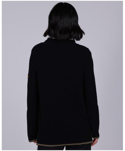 Women's Barbour International Restart Knit - Black