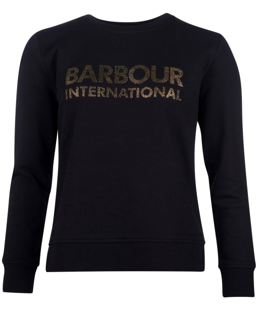 Women's Barbour International Downforce Overlayer - Black