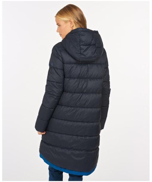 Women's Barbour Kelp Quilted Jacket - Dark Navy
