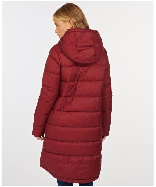Women's Barbour Kelp Quilted Jacket - Carmine