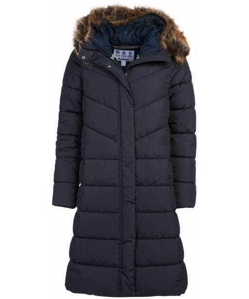 Women's Barbour Sea Whip Quilted Jacket - Dark Navy