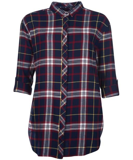 Women's Barbour Ramble Check Shirt - Navy Check