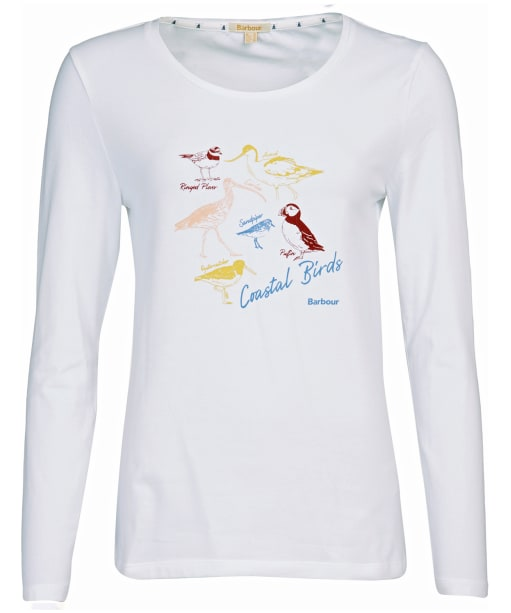Women's Barbour Longshore T-Shirt - White