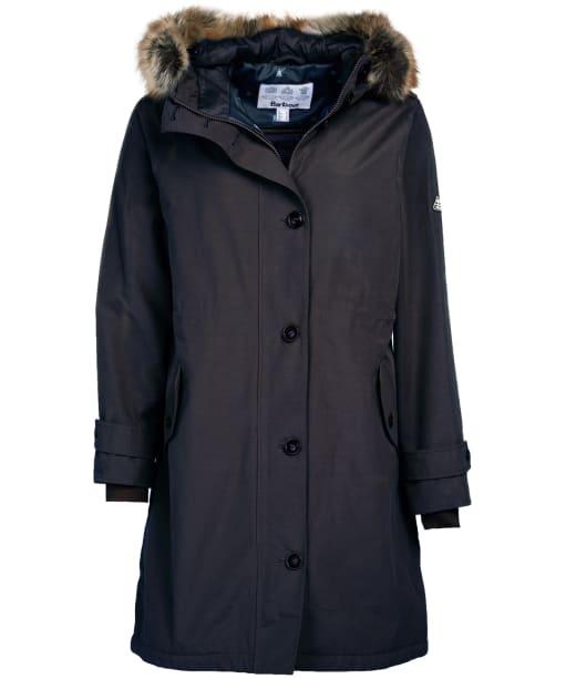 Women's Barbour Hollies Waterproof Jacket - Dark Navy