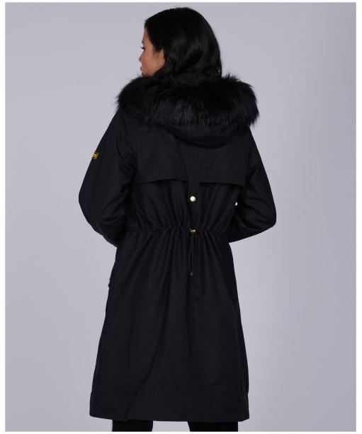 Women's Barbour International Mayer Jacket - Black
