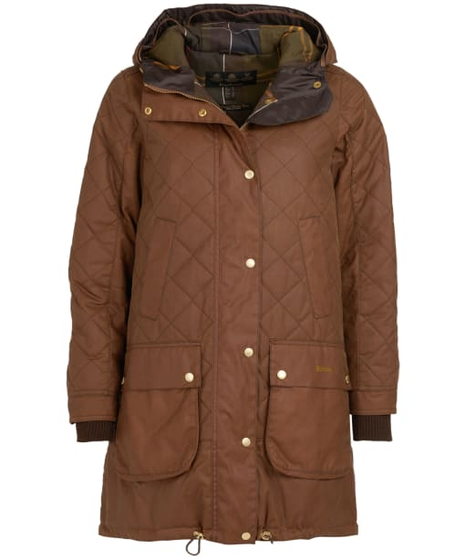 Women's Barbour Pankhurst Wax Jacket - Bark