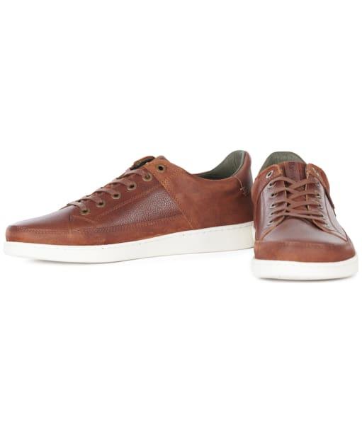 Men's Barbour Bilby Casual Shoes - Cognac