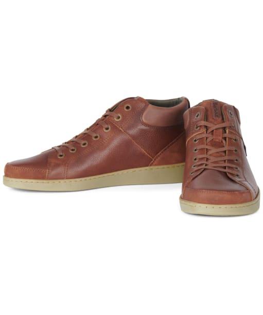 Men's Barbour Musky Ankle Boots - Cognac