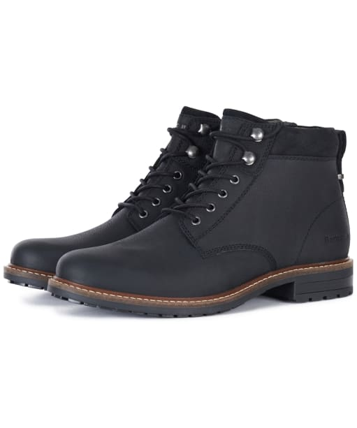 Men's Barbour Wolsingham Derby Boots - Black