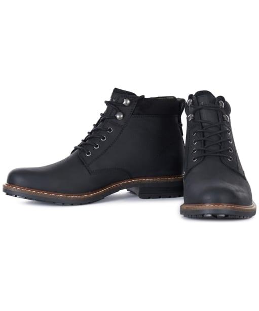 Men's Barbour Wolsingham Derby Boots - Black
