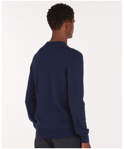 Men's Barbour Aldwick Crew Sweater - Navy
