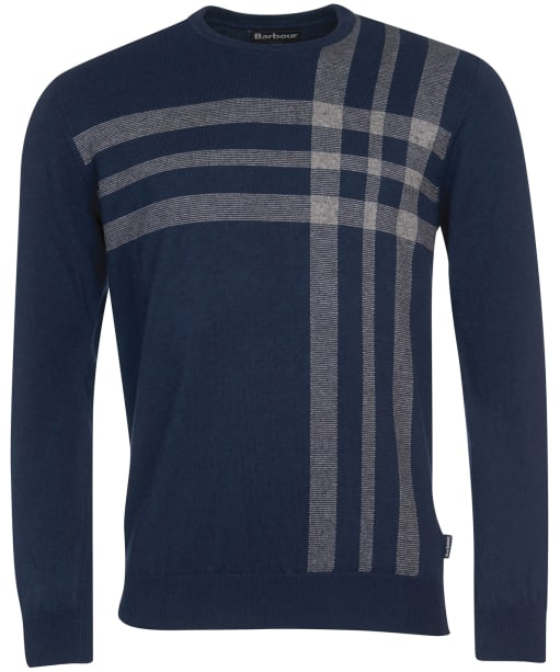 Men's Barbour Aldwick Crew Sweater - Navy