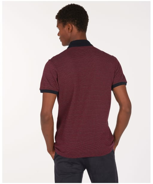 Men's Barbour Glen Polo Shirt - Navy