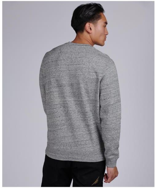 Men's Barbour International Sub Nep Sweater - Anthracite Marl