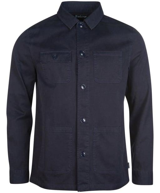 Men's Barbour Balintore Overshirt - Navy