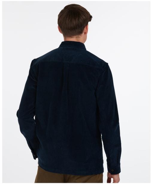 Men's Barbour Cabin Overshirt - Navy
