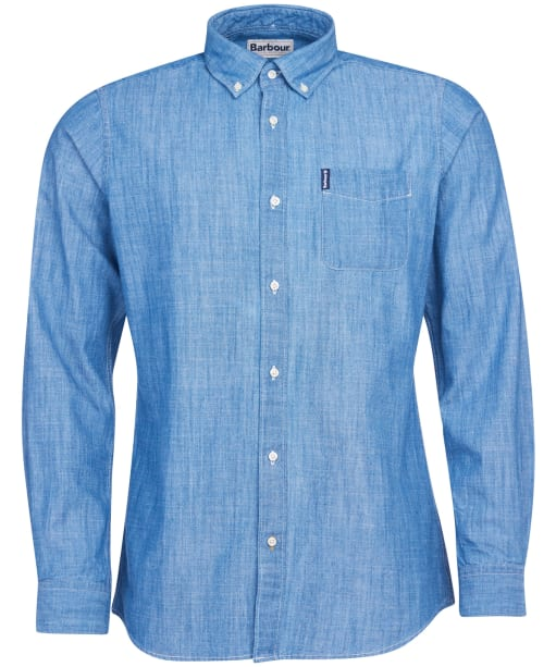 Men's Barbour Chambray 1 Tailored Shirt - Chambray