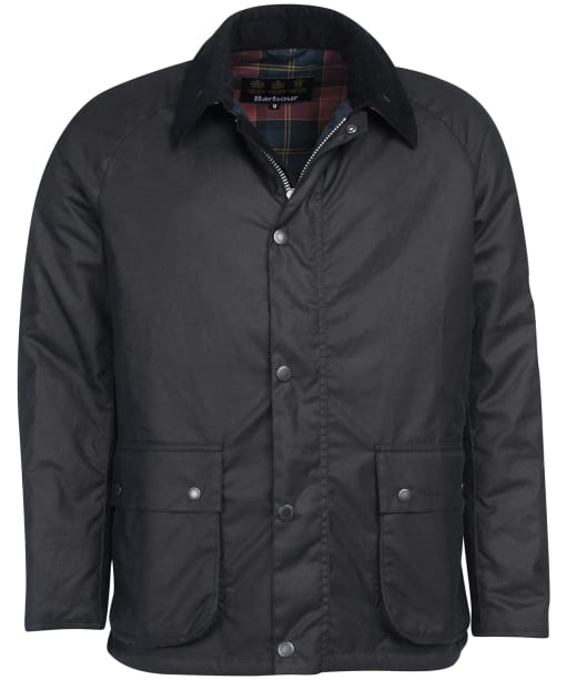 Men's Barbour Horto Waxed Jacket - Navy