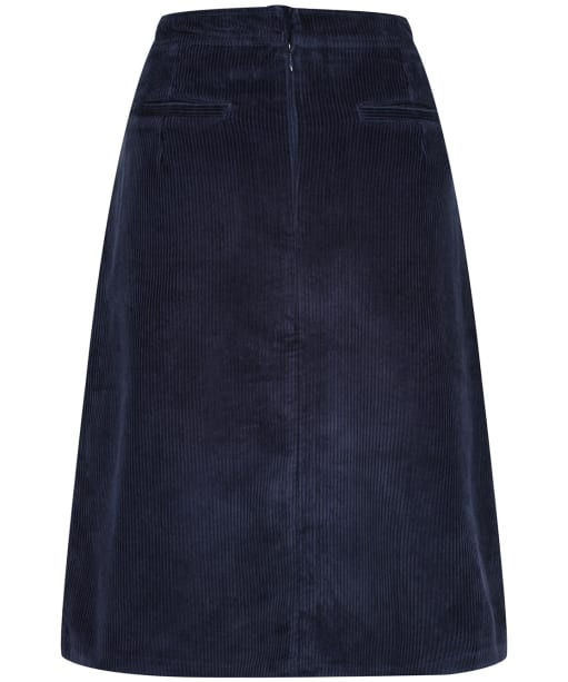 Women's Lily & Me Button Through Skirt - Navy