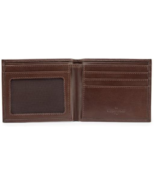 Men's Le Chameau Card Wallet - Marron Fonce