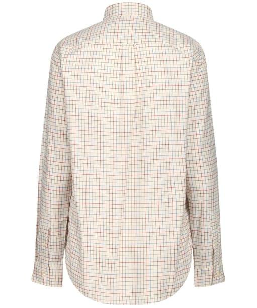 Women's Schoffel Ashley Tattersall Shirt - Grey / Chilli / Mol